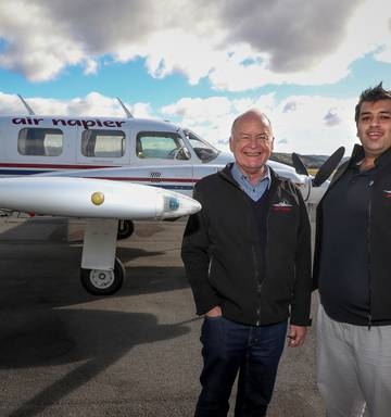 Air Napier shakes things up with new ownership and change of