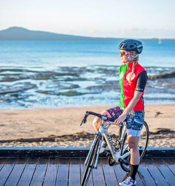 Weekend Warrior: 'Crazy' cyclist Emma Hadley now an
