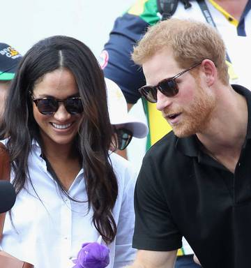 480b8d9096 ... Meghan Markle wears Finlay   Co s Percy sunglasses at her first public  appearance with Harry at