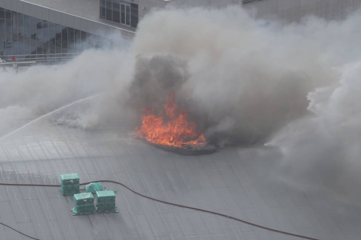 Why firefighters can't put out SkyCity blaze