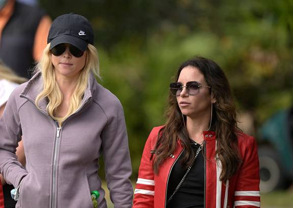 Golf: Tiger Woods' girlfriend Erica Herman, ex-wife Elin ...