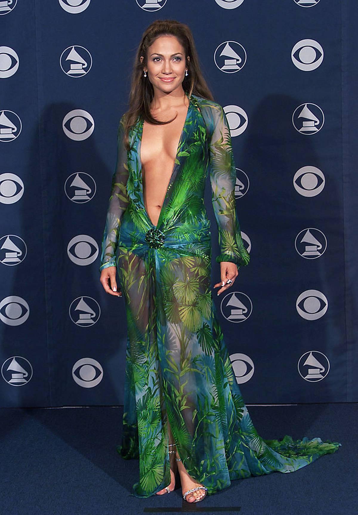 Jennifer Lopez's iconic Versace dress gets unusual revival