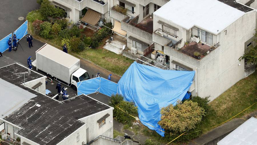 Father arrested in Japan after fire kills six, including five children