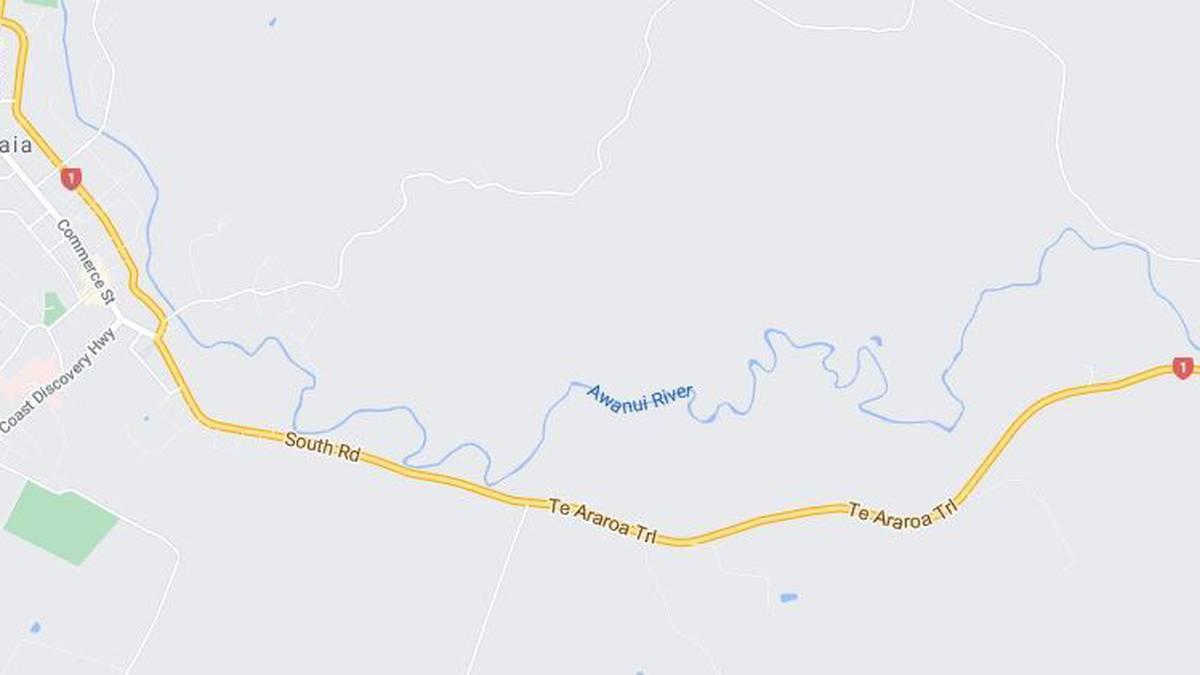 Fatal water incident at Kaitaia's Awanui River, Far North