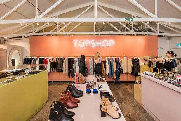 The Department Store was once home to Topshop, first introducing the brand to New Zealand.