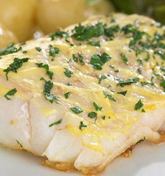 Pan Fried Cod Steaks With Mustard Glaze Nz Herald