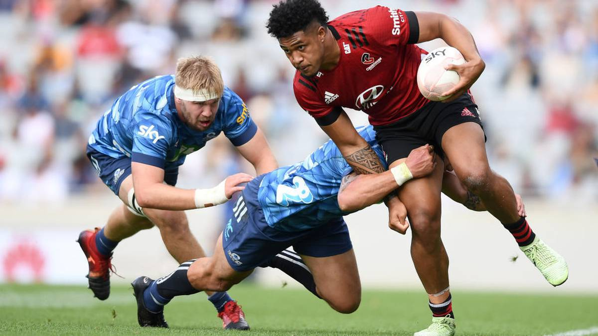 Sky Super Rugby Aotearoa: Crusaders burst Blues bubble with statement win in Super Rugby Aoteroa - NZ Herald