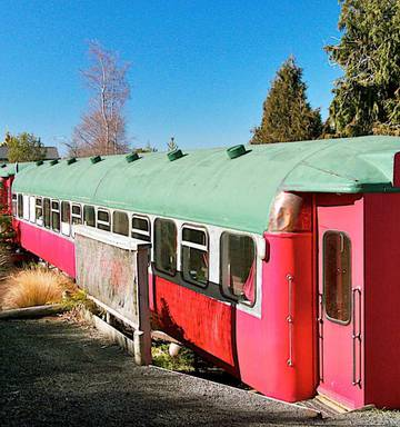 Ōhakune's quirky railway carriages for sale for $265,000 - NZ Herald