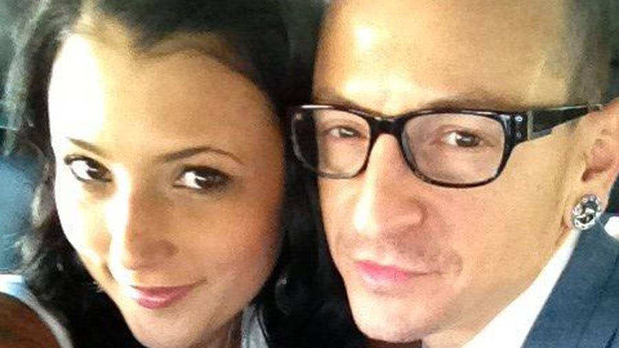 Chester Bennington's widow shares video taken hours before his death