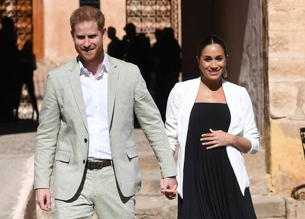 Britain's Prince Harry and Meghan, Duchess of Sussex. Photo / AP