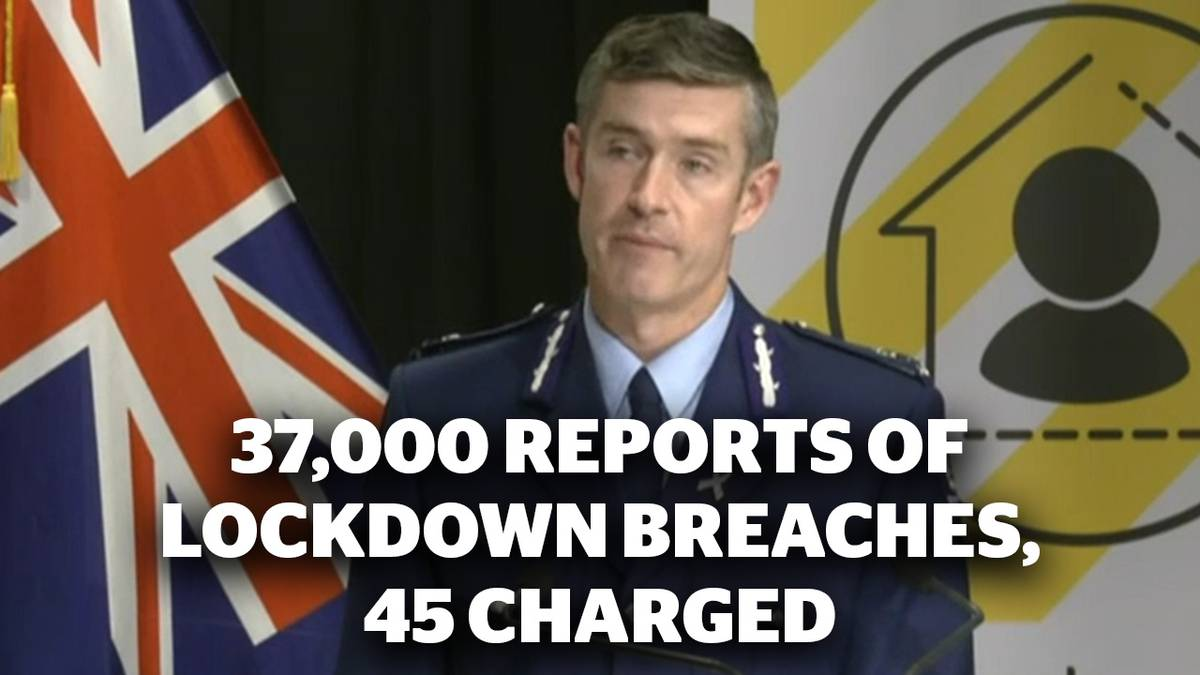 Focus Live: 37,000 reports of lockdown breaches, 45 charged as police gear up for Easter