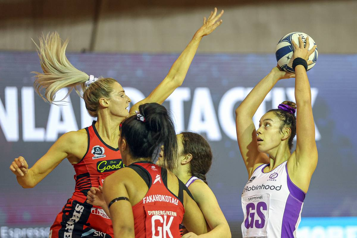 Netball: Mainland Tactix move into second on ANZ Premiership ladder