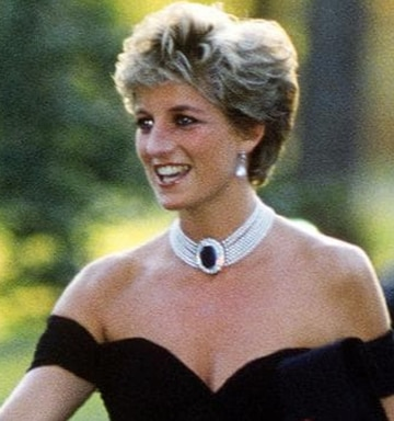 How Princess Diana's iconic 'revenge dress' changed royal