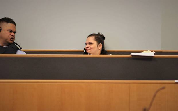 Ashley Winter, pictured during the trial. Photo / Sam Hurley