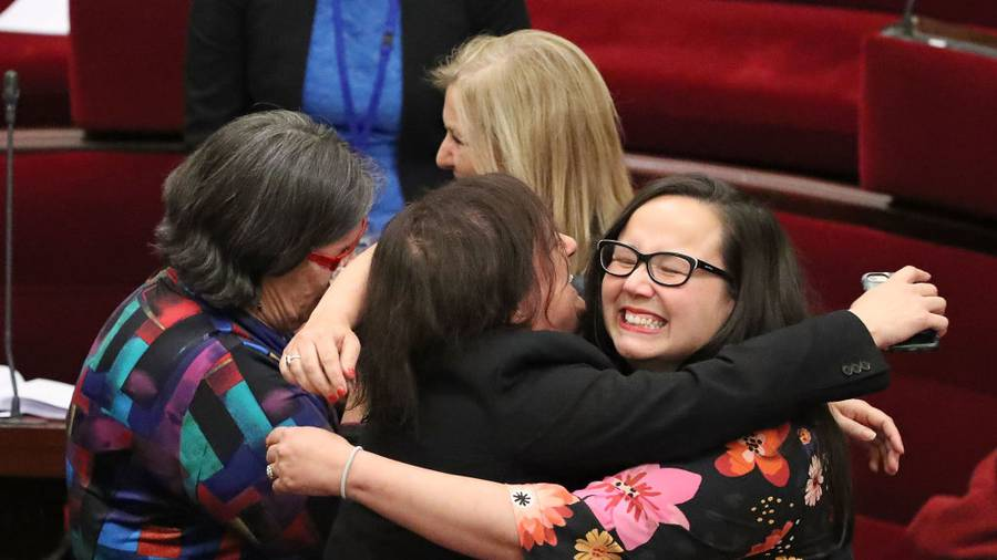 Assisted dying bill passes Victorian Upper House