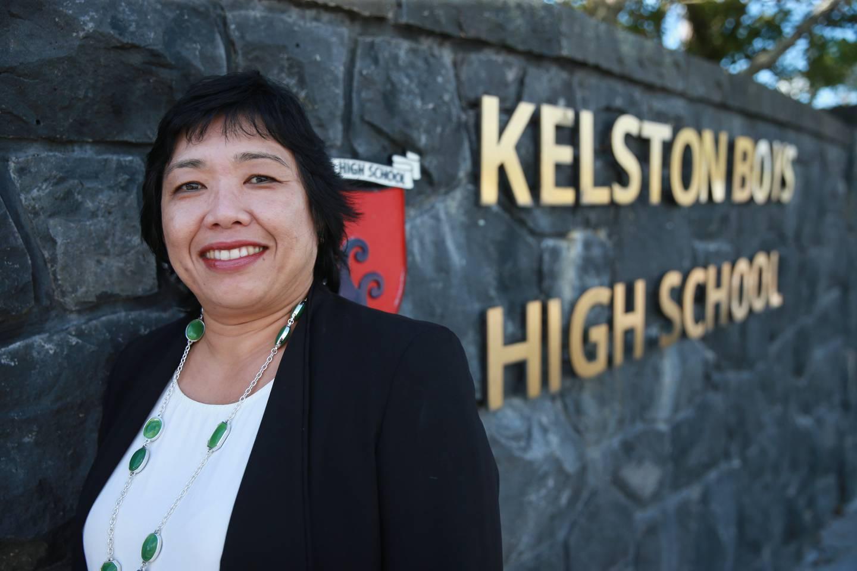 Kelston Boys High School principal Adeline Blair. Photo / Doug Sherring