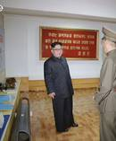 In this image made from video of a news bulletin aired by North Korea's KRT on Wednesday, leader Kim Jong Un visits the Chemical Material Institute of Academy of Defense Science. Photo / AP