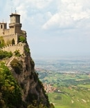 San Marino Castle, also known as Guaita or Rocca or First Tower. Photo / Getty Images.