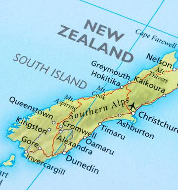Map South Island Of New Zealand.Offensive Place Names To Be Taken Off The Map Nz Herald