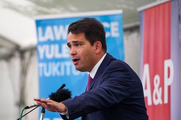 National Party leader Simon Bridges. Photo / Paul Taylor