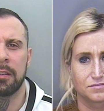 Couple abused 'sleeping beauty' victim on Skype while female