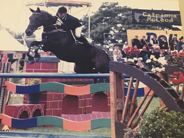 The former Olympic equestrian rider had her whole world shattered after cartwheeling off her horse at Hamilton's Kihikihi Horse Trials. Photo / Supplied