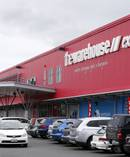 The Whangarei Warehouse located at the Okara Shopping Centre. Photo / John Stone