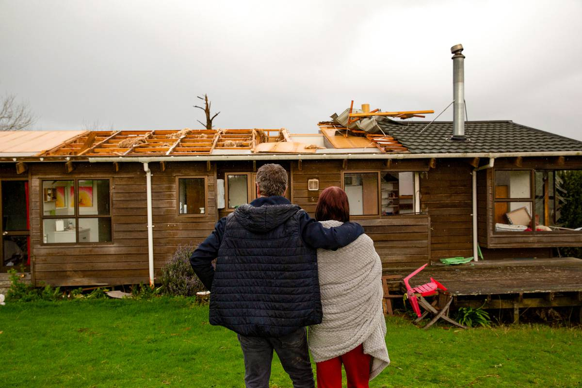 Tornado destroys house: Cruel twist as Auckland family wait for insurance help