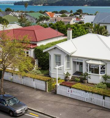 12eaeed63f8 ... These two villas at 155 & 157 Jervois Rd, Herne Bay have been renovated  into