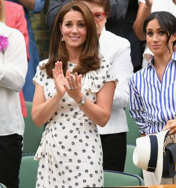d734903d Photo Meghan joined seasoned Wimbledon attendee Catherine, Duchess of  Cambridge in the Royal Box. Photo