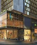 How the new $200m Auckland hotel could look from the Albert/Wyndham St corner.