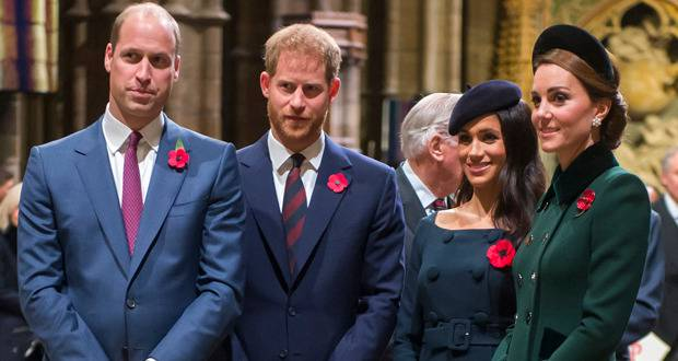 William, Harry and their families are in the process of separating their courts. Photo / Getty Images