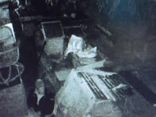 Police released this CCTV image of the bunny burglar in September 2016. Photo / Supplied