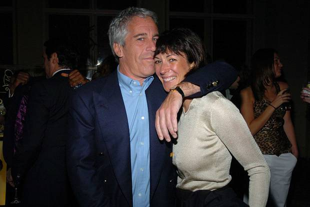 Jeffrey Epstein and Ghislaine Maxwell at a 2005 event in New York. Maxwell has always denied being involved in a sex-trafficking network run by Epstein. Photo / Getty