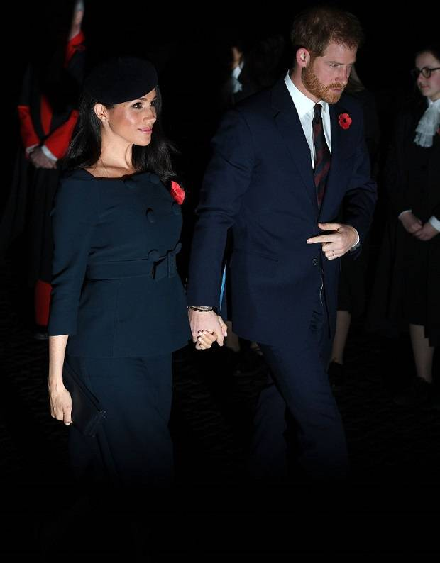 Harry and Meghan at Westminster Abbey. Photo / Getty Images