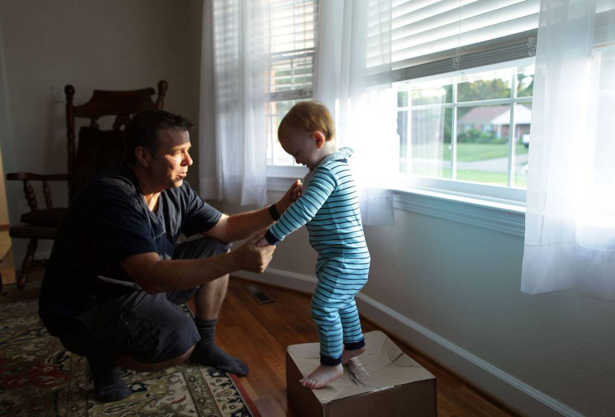 He never expected to be a single dad The Virginia
