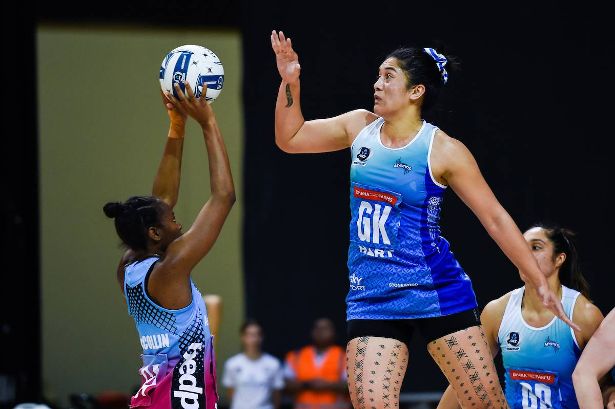 Netball: Northern Mystics suffer surprise defeat to Southern Steel in ANZ Premiership final