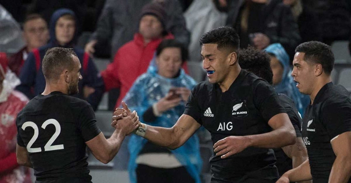 All Blacks show class in first test win over Lions