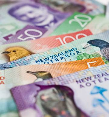 Nz Dollar Treads Water After Rate Cut