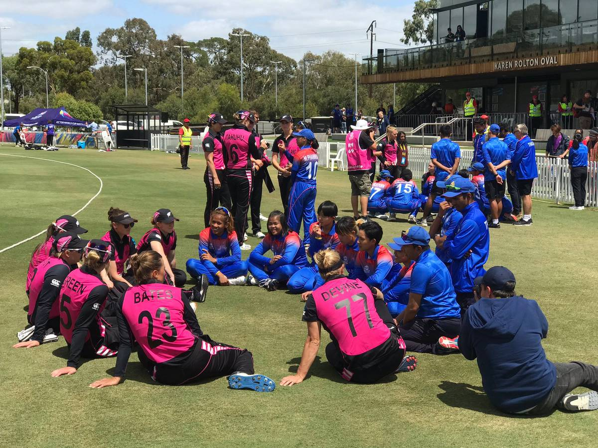 Cricket: White Ferns lauded for gesture towards Thailand after Twenty20 World Cup warm-up