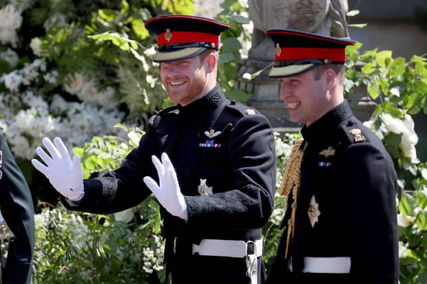 William, two years older than Harry, has always kept an eye out for his younger brother. Photo / Getty Images