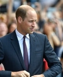 Anger: William on the programme recalling the harassment of his mother. Photo / Getty Images