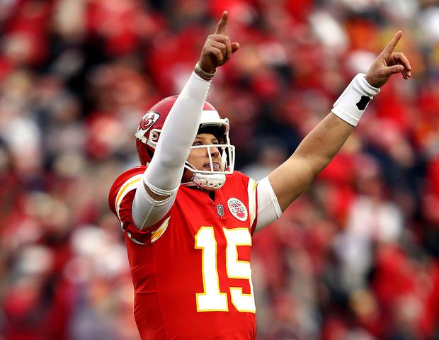 Will Patrick Mahomes continue his impressive season against the Colts? Photo / Getty Images