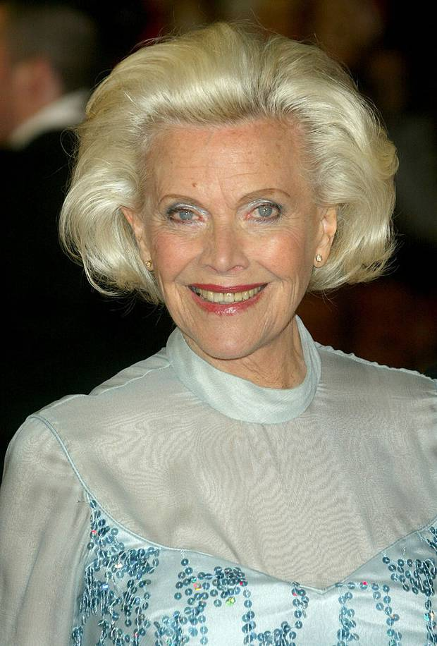 Honor Blackman. Photo / Getty Images
