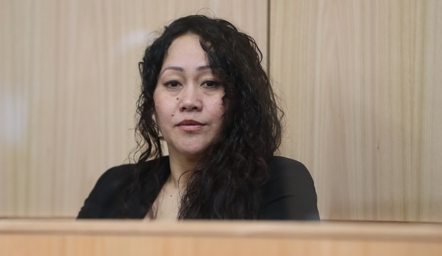 Anna Eiao Browne has a history of violence which included a prison stint for wounding with intent to cause grievous bodily harm. Photo / Peter Meecham