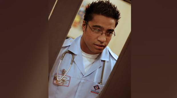 Pua Magasiva starred as Vinnie Kruse in Shortland Street. Photo / Supplied