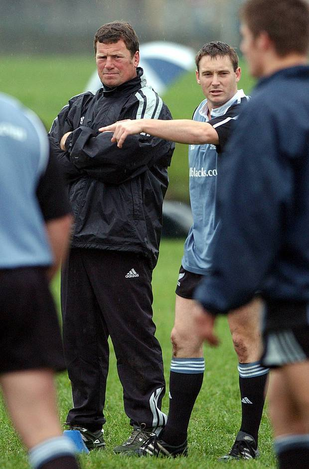 Former All Black hardman Richard Loe wasn't only strong but quick-witted too. Photo / Getty
