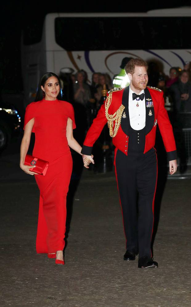 The Duke and Duchess of Sussex were out in force last night when they attended the Mountbatten Festival of Music at the Royal Albert Hall. Photo / Getty Images