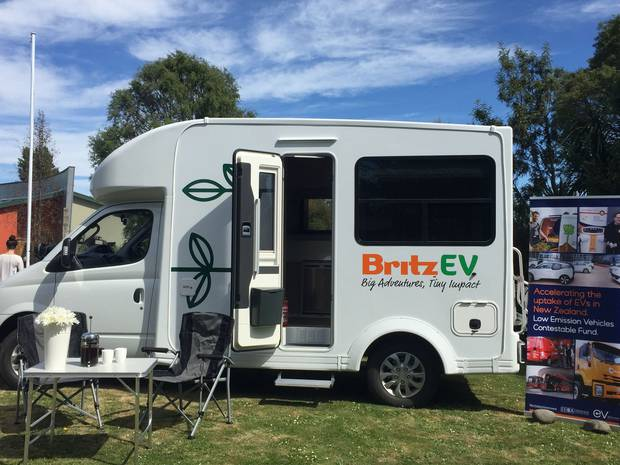 Projects include 100 per cent electric campervans for tourists. Photo / Rachel Das