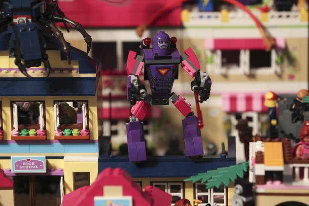 Tim Stevens, Hastings, is part of local Lego building group linked to a national group preparing for the first big Lego exhibition to be staged in Hawke's Bay this weekend.